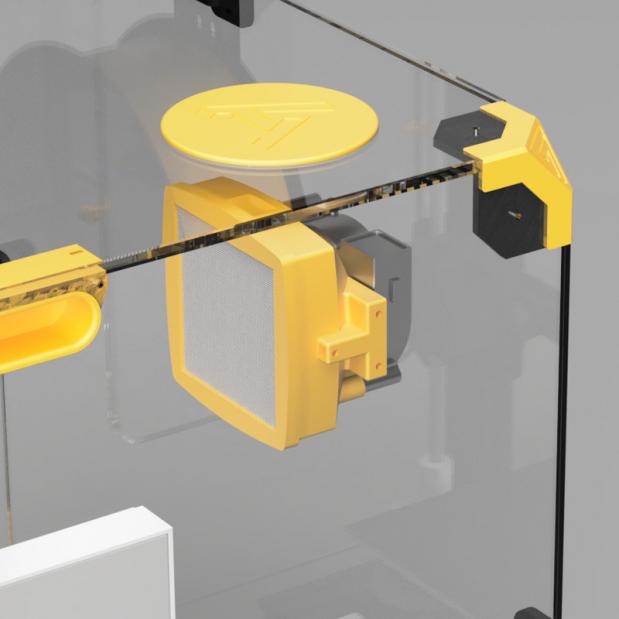 Capot anti bruit et filtrant Ender-3 série (4)